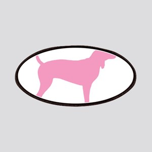 Pink Coonhound Patches