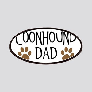 Coonhound Dad Oval Patches