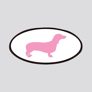 Pink Dachshund Patches