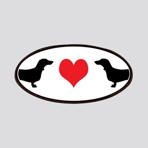 Dachshunds & Heart Patches