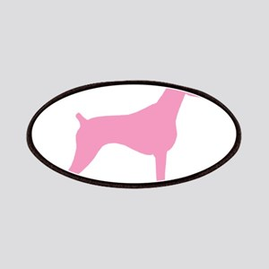 Pink Doberman Patches