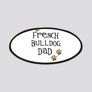 French Bulldog Dad Patches