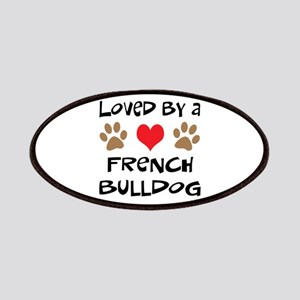 Loved By A French Bulldog Patches