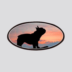 French Bulldog Sunset Patches