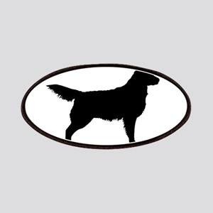 Golden Retriever Oval Patches