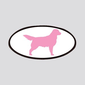 Pink Golden Retriever Patches