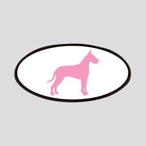 Pink Great Dane Patches