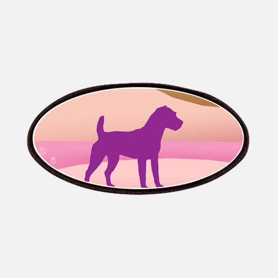 Jack Russell Rainbow Hills Patches