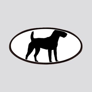 Jack Russell Oval Patches