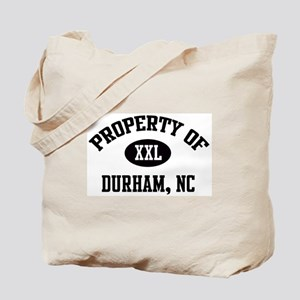 Property of Durham Tote Bag