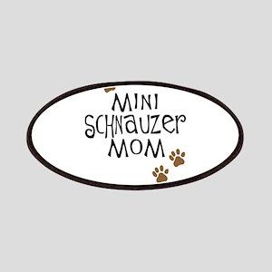 Mini Schnauzer Mom Patches