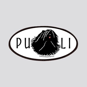 Puli Dog w/ Puli Text Patches