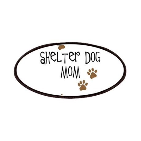 Shelter Dog Mom Patches