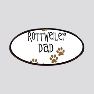 Rottweiler Dad Patches
