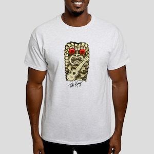 Ukulele Playing Tiki Light T-Shirt