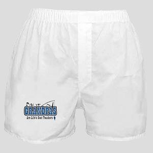 Grandpa Life's Best Teacher Boxer Shorts