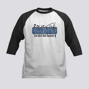 Grandpa Life's Best Teacher Kids Baseball Jersey