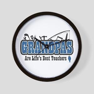 Grandpa Life's Best Teacher Wall Clock