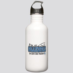 Grandpa Life's Best Teacher Stainless Water Bottle