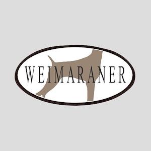 Weimaraner Greytones Patches