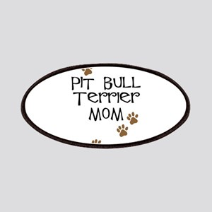 Pit Bull Terrier Mom Patches