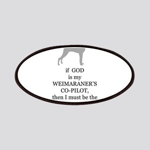 Weim Attendant Patches