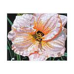 White Hibiscus Small Puzzle