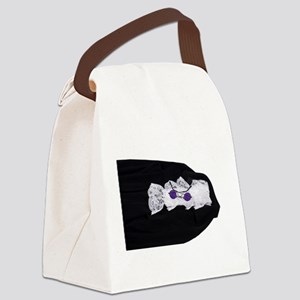 GothicVelvetGlasses111409 Canvas Lunch Bag