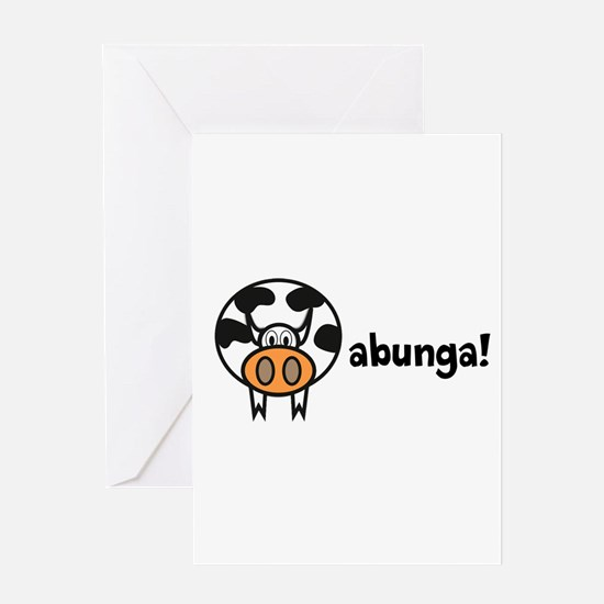 Cowabunga! Greeting Card