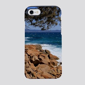 Rocky coast near South West Ro iPhone 7 Tough Case