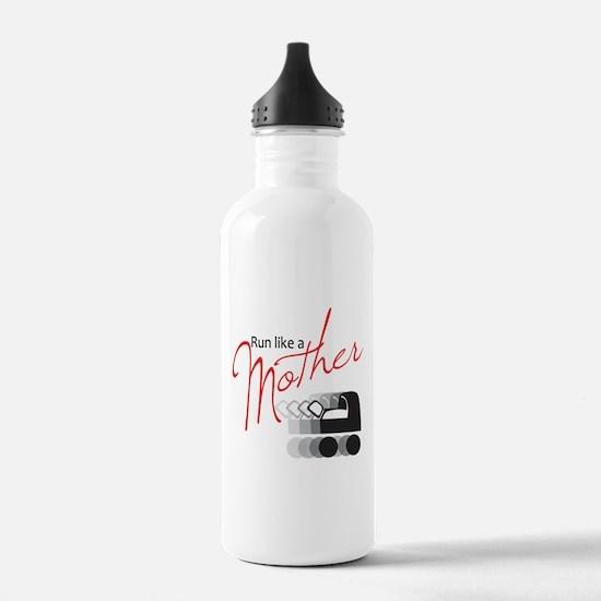 Run Like a Mother Water Bottle