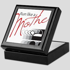 Run Like a Mother Keepsake Box