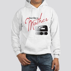 Run Like a Mother Hooded Sweatshirt