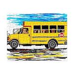 School Bus2 Small Puzzle