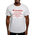 Coach's Warning Ash Grey T-Shirt