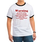 Coach's Warning Ringer T