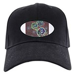 Celtic Design Black Cap