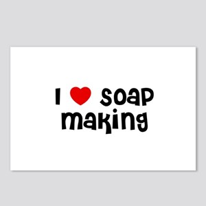 I * Soap Making Postcards (Package of 8)