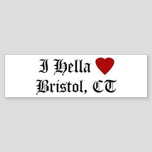 Hella Love Bristol Bumper Sticker