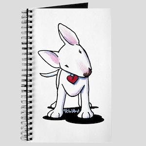 Curious Bull Terrier Journal