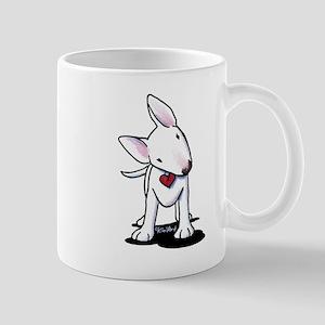 Curious Bull Terrier Mug