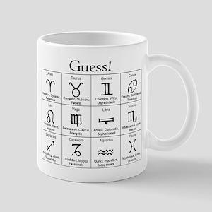 Guess! Zodiac Coffee Mug