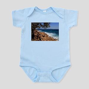 Rocky coast near South West Rocks, Austr Body Suit