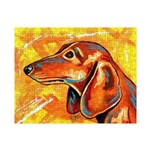 Brown Dachshund Small Puzzle