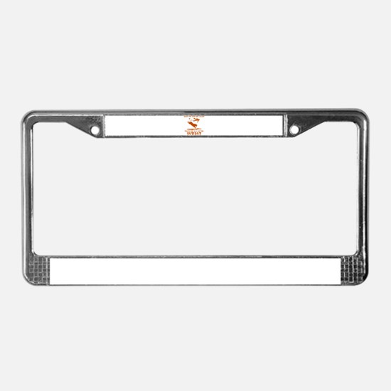 The Way of the Cowboy License Plate Frame