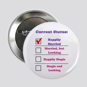 Happily Married Button