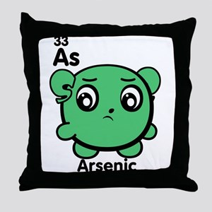 Cute Element Arsenic As Throw Pillow