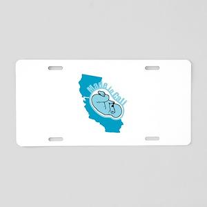 Made In California - Badass Aluminum License Plate