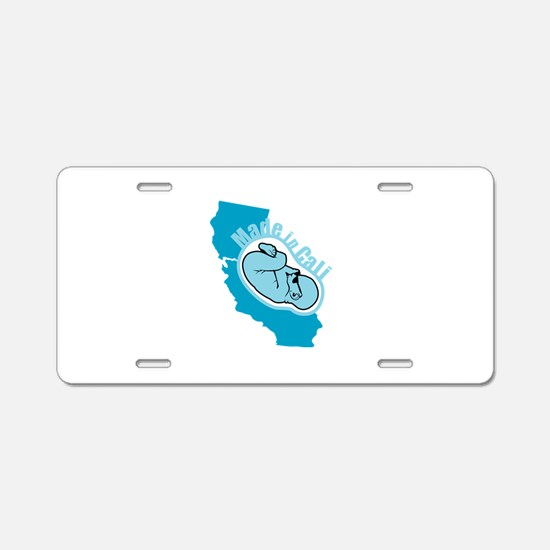 Made In California - Badass Aluminum License Plate