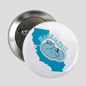 "Made In California - Badass 2.25"" Button"